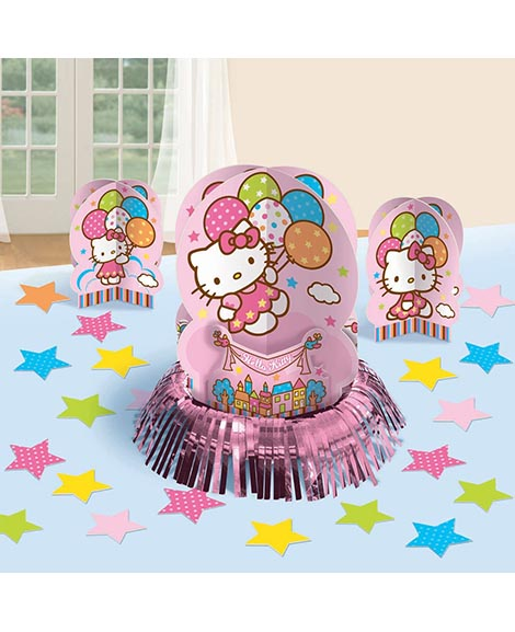 Hello Kitty Balloon Dreams 23 Piece Table Decorating Centerpiece