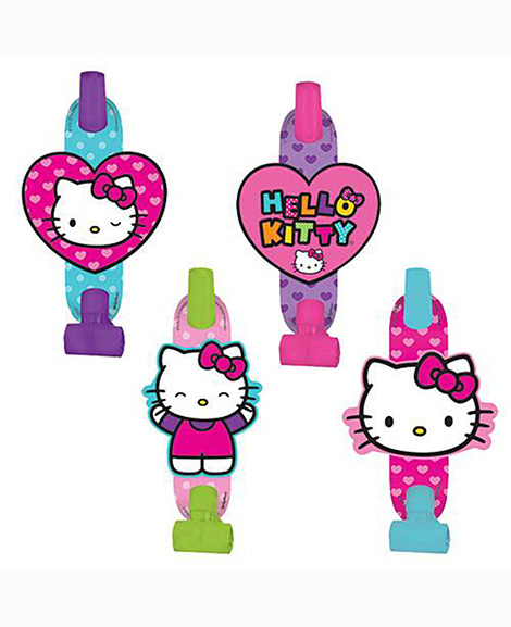 Hello Kitty Rainbow Party Favor Blowouts