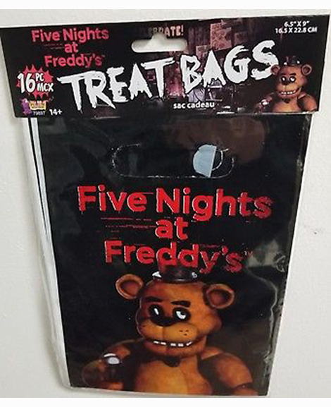 Five Nights at Freddy's Treat Bags 16 Count