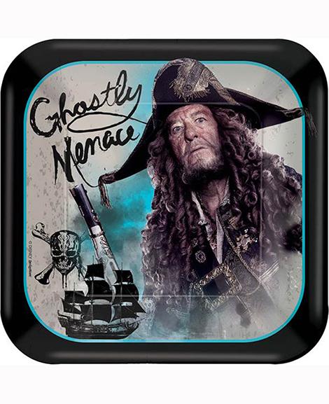 Pirates of The Caribbean Dead Men Tell No Tales Dessert Plates