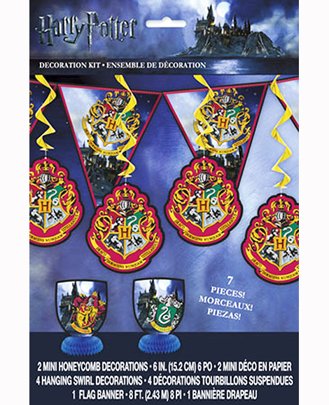 Harry Potter 7 Piece Decoration Kit