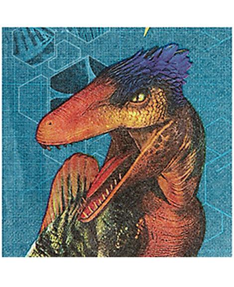Jurassic World Beverage Napkins By Amscan