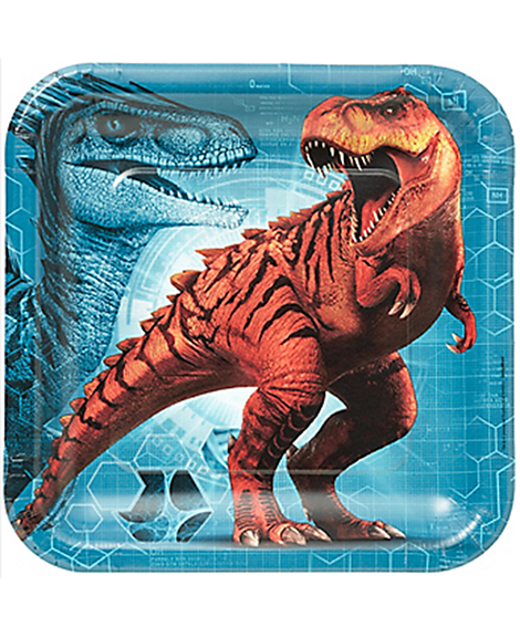 Jurassic World Lunch Plates By Amscan