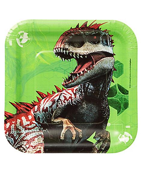 Jurassic World Dessert Plates By Amscan