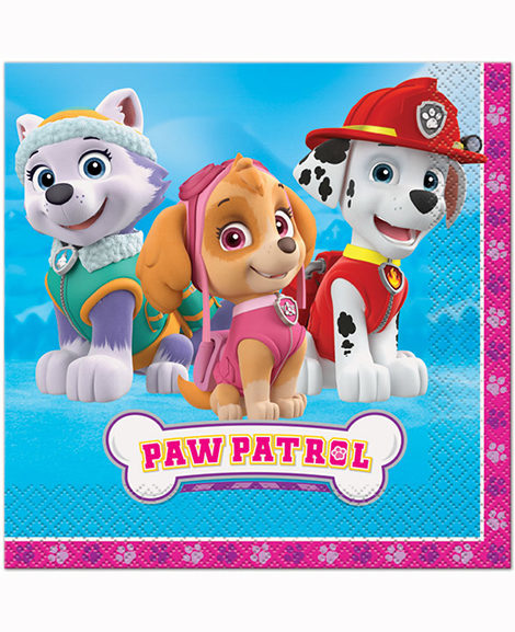 Paw Patrol Lunch Napkins by Unique
