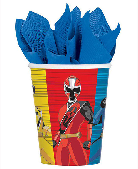 Power Rangers Ninja Steel 9 oz Paper Cups