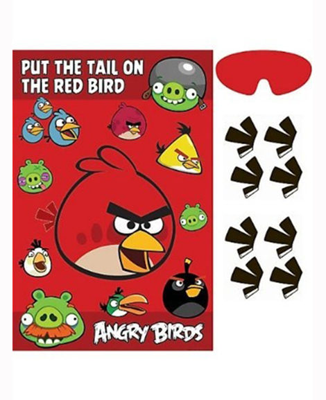 Angry Birds Movie Party Game