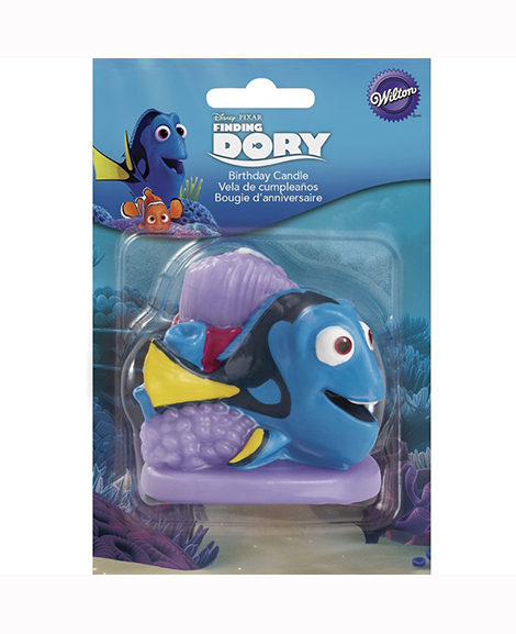 Finding Dory 3D Molded Cake Topper Birthday Candle