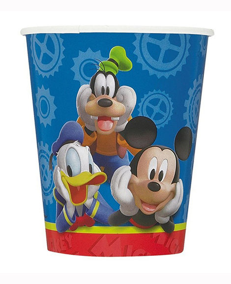 Mickey Clubhouse 9 oz Paper Cups