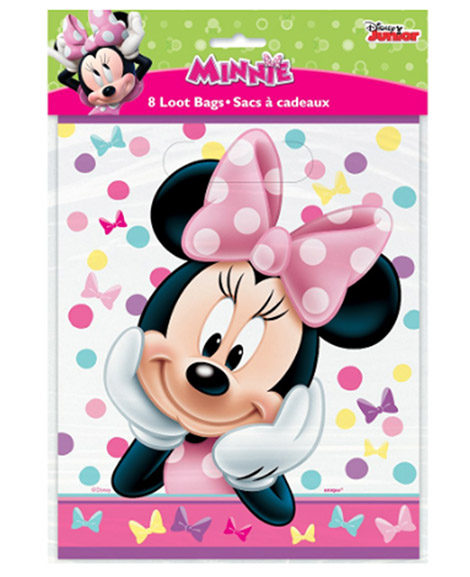 Minnie Bowtique Party Favor Treat Bags