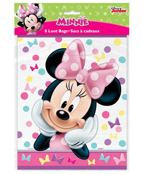 Minnie Bowtique Party Favor Treat Bags
