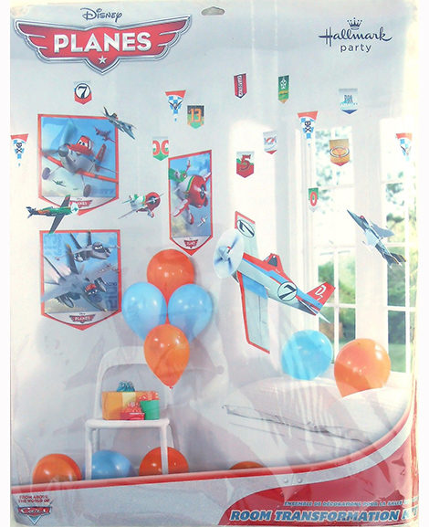 Disney Planes 22 Piece Room Decorating Kit