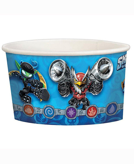 Skylanders Ice Cream Snack Cups 8 Ct