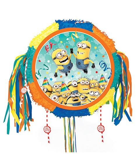 Despicable Me Pop Out Pull String Piñata