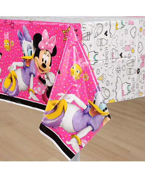 Minnie Mouse Happy Helpers Plastic Table Cover