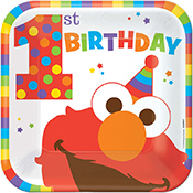 elms-turns-one-party supplies