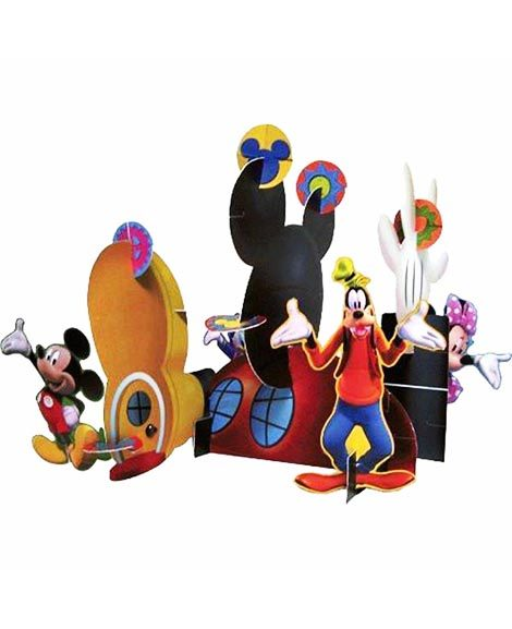 Mickey Clubhouse Centerpiece