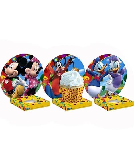 Mickey Clubhouse Cupcake Holders