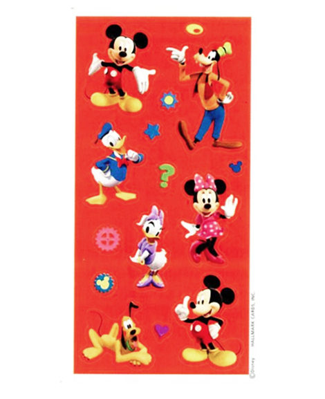 Mickey Mouse Clubhouse Party Favor Stickers 4 Sheets