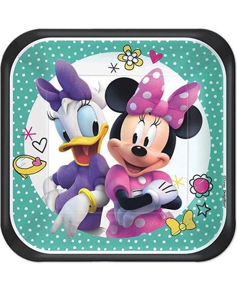 Minnie Mouse Happy Helpers Dessert Plates 8 Ct