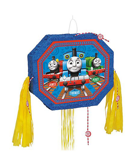 Thomas The Tank Engine Pop Out Pull String Piñata