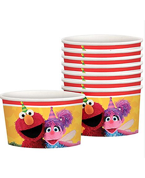 Sesame Street Snack Cups 8 Ct