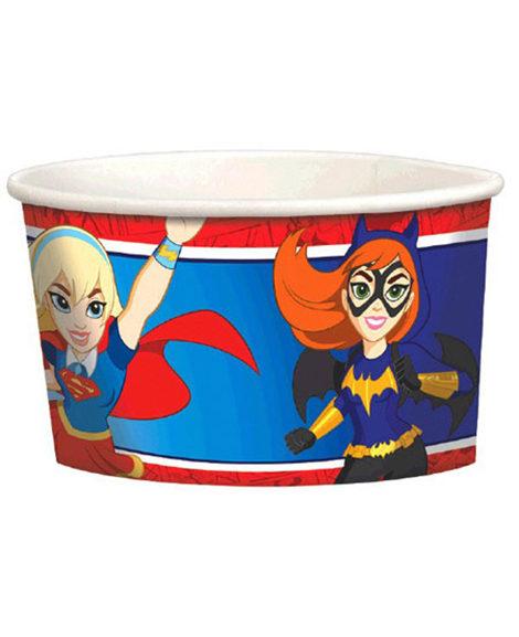DC Super Hero Girl Snack Cups 8 Ct