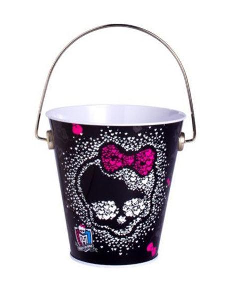 Monster High Party Favor Metal Tin Pail