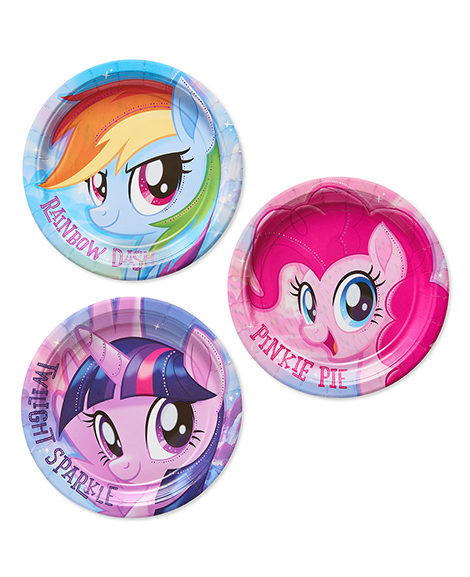 My Little Pony 2 Dessert Plates 8 Ct