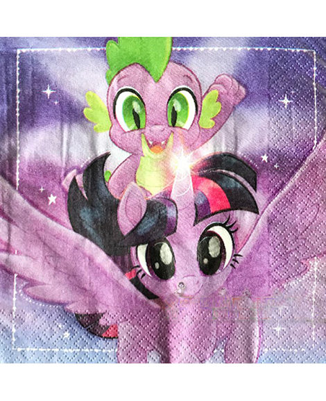 My Little Pony 2 Lunch Napkins 16 Ct
