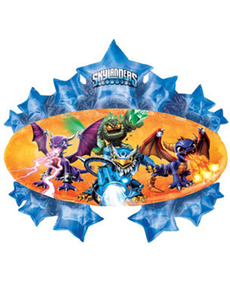 Skylanders Marquee Starburst Super Shaped Mylar Balloon
