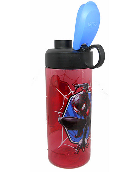 Spiderman Classic Plastic Water Bottle with Flip Lid