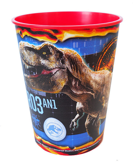 Jurassic World Keepsake Favor 16 oz Stadium Cup