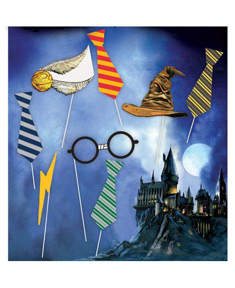 Harry Potter Photo Props Party Kit 8 Piece
