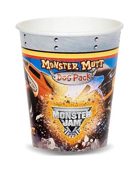 Monster Truck Jam 3-D Paper Cups 9 oz