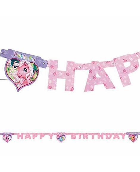 My Little Pony Happy Birthday Banner 8 Foot