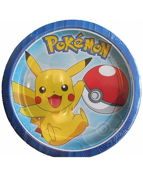 Pokemon Core Dessert Plates 8 Ct