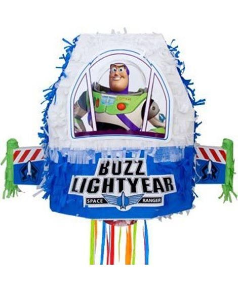 Toy Story Buzz Light Year 3D Pull String Pinata