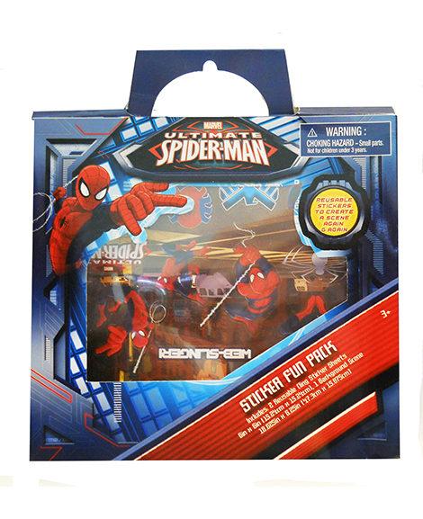 Marvel Ultimate Spiderman Sticker Fun Pack