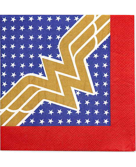Wonder Woman Lunch Napkins 16 Ct