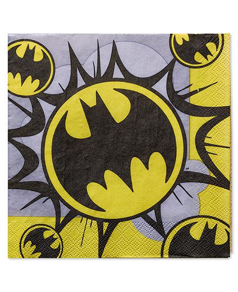 Batman Classic Lunch Napkins 16 Ct