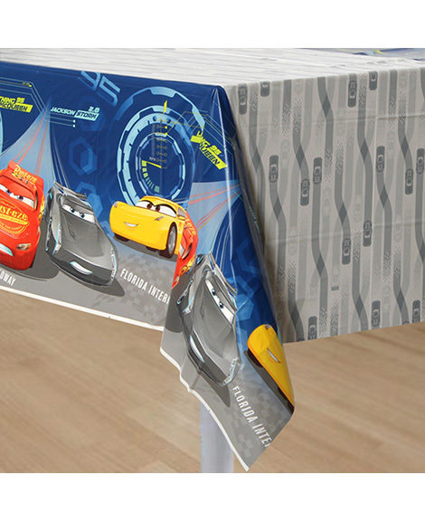 Cars 3 Plastic Table Cover 1 Ct