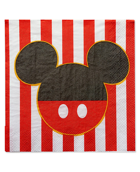 Mickey Mouse Classic Lunch Napkins 16 Ct