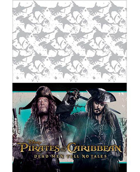 Pirates of the Caribbean Dead Men Tell No Tales Plastic Table Cover