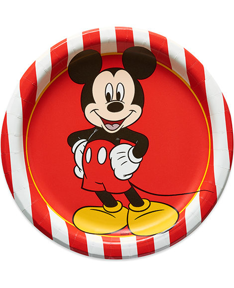 Mickey Mouse Classic Dessert Plates 8 Ct