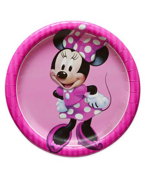 Minnie Mouse Classic Dessert Plates 8 Ct