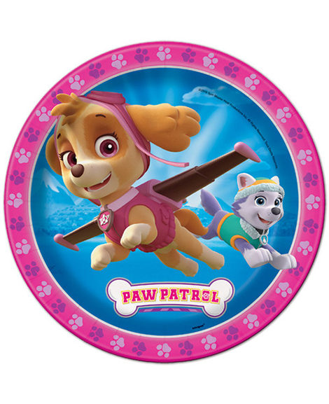 Paw Patrol Girls Lunch Plates by Unique