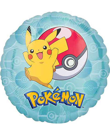 Pokemon Core Foil Mylar Round Balloon