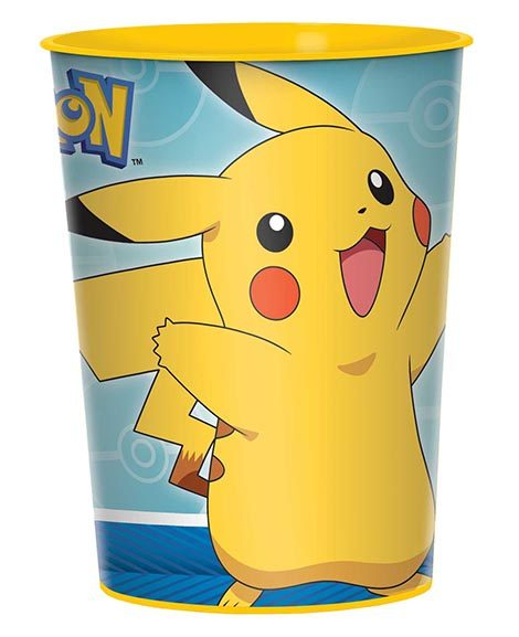 Pokemon Core Keepsake Plastic Favor Stadium Cup