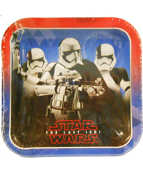 Star Wars The Last Jedi Dessert Plates